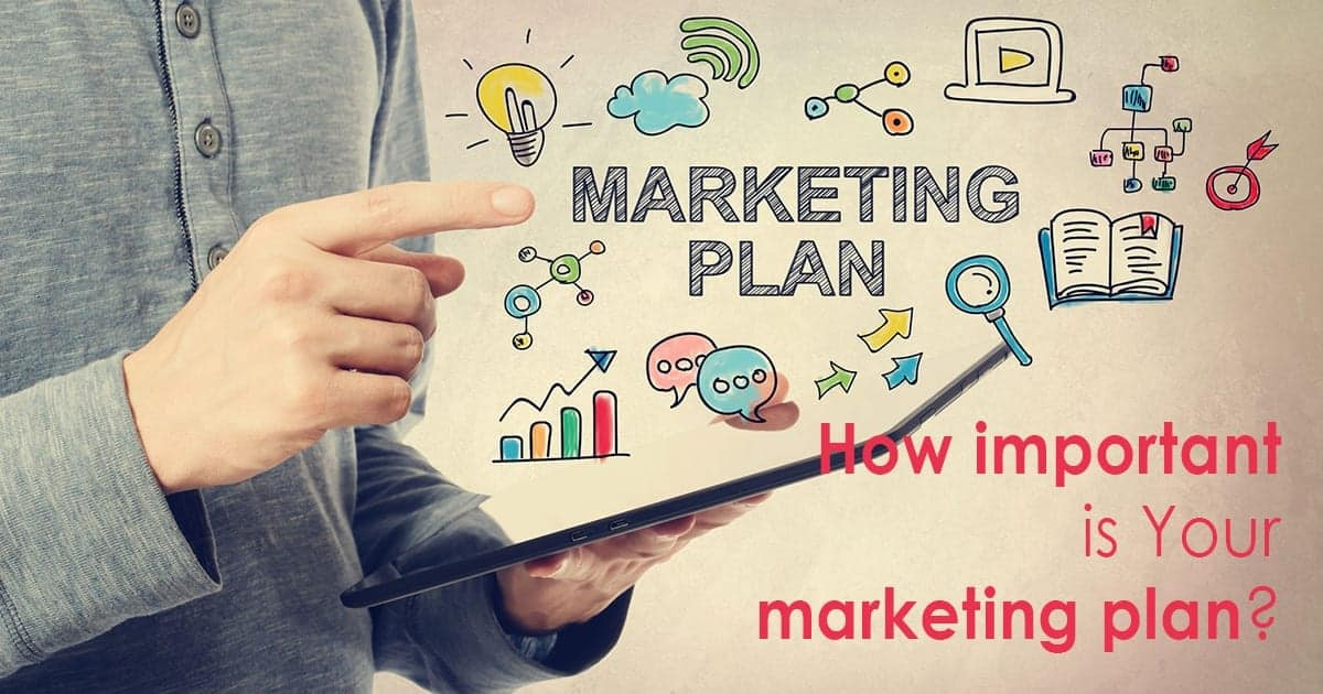How important is your marketing plan