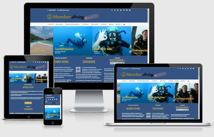 Member Diving is a Swiss diving school for ambitious and demanding divers.