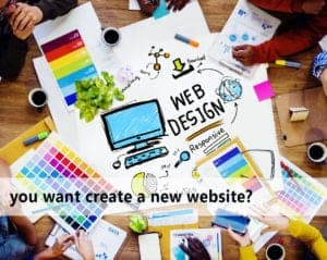 you want create a new website?