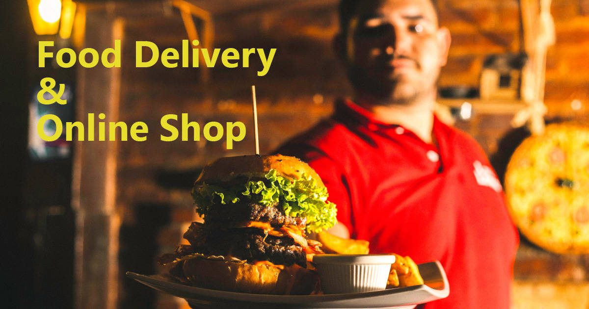 Food Delivery Services & Online Shop
