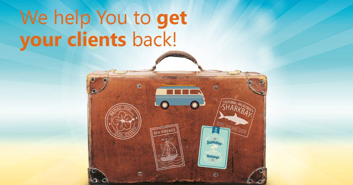 We help You to get your clients back!
